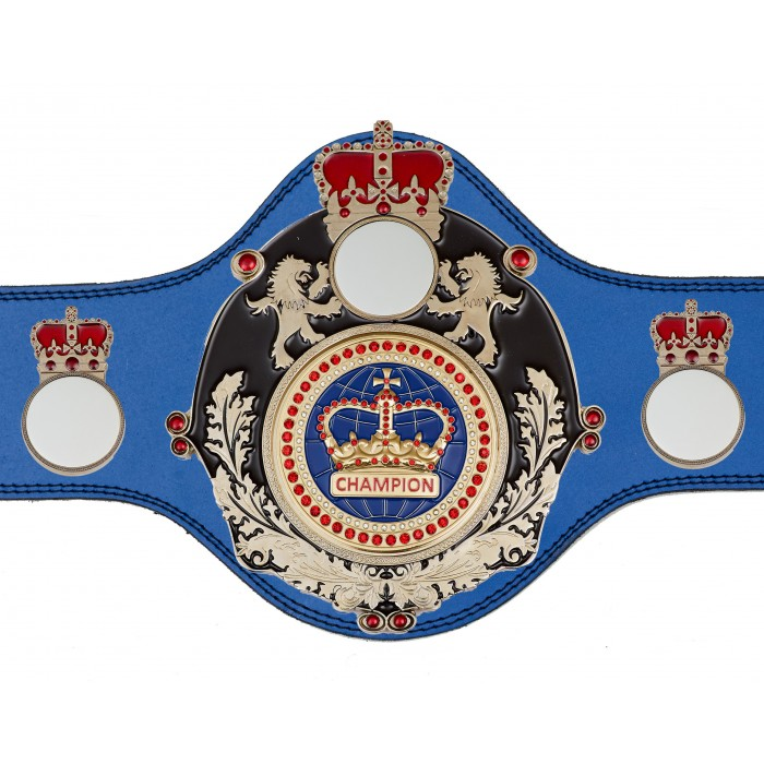 CHAMPIONSHIP BELT - PLTQUEEN/B/S/BLUGEM - AVAILABLE IN 4 COLOURS